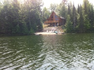 Cabin From Lake 2