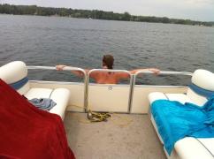 Moriah Leading the Boat