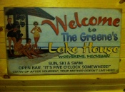 Welcome to the Green's Lake House