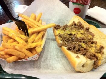 Philly Cheesesteak & Cheeze Whiz Fries
