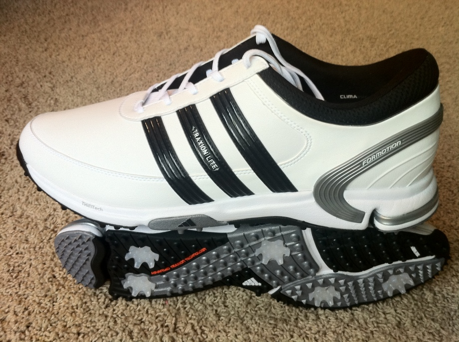 Adidas Traxion Lite FM Golf Shoes I wore the shoes for the first time