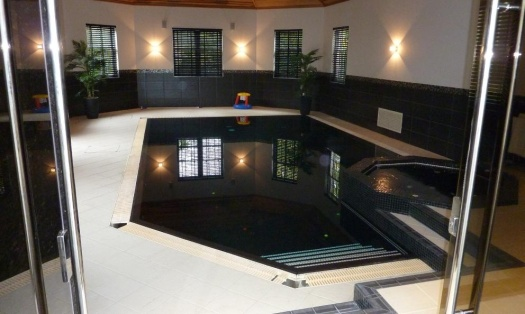 Black Pool Tiles
