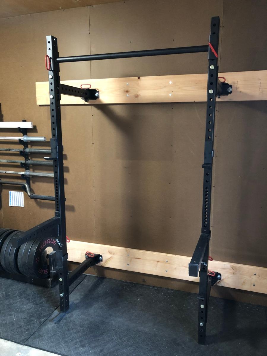 Titan fitness 21.5u2033 fold back wall mounted t 3 power rack u2013 nicks blog