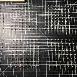 All 8 grids completed without burning a single LED. I can't believe I didn't swap the leads when I bent them all.